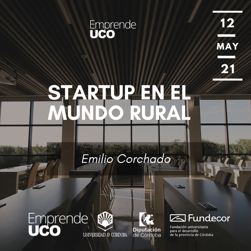 Conferencia Gratuita: StartUp en el Mundo Rural